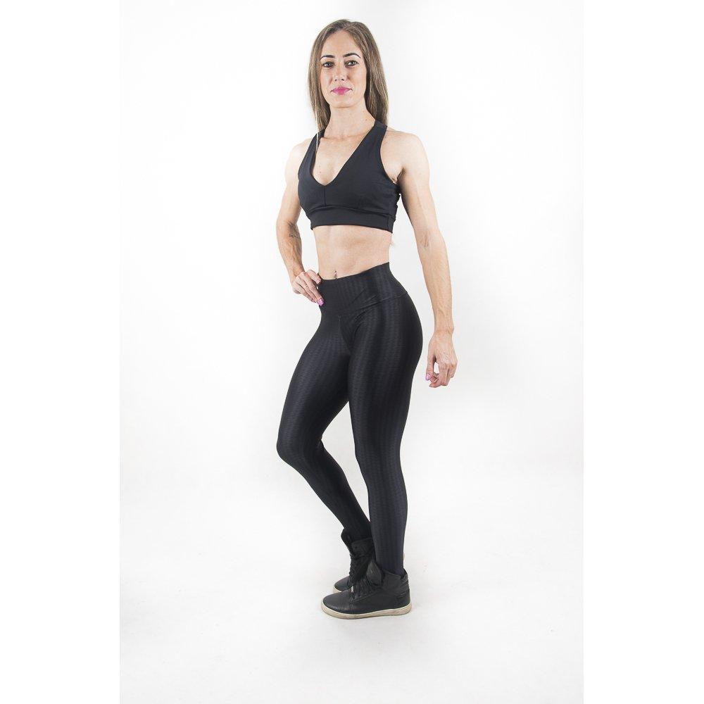Malhei 3D Fashion Preto Legging Já Fashion 3D Legging SOYqttw