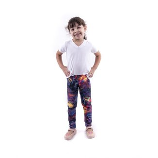 Legging  Abstract Infantil Já Malhei