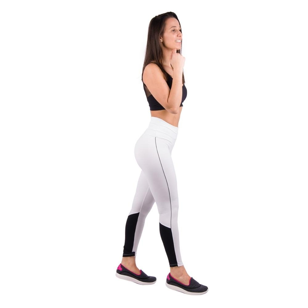 Legging Hanna Legging Branco Vivos Triplo Banna Com Laterais Salto Banna 5F4wq66x