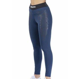 Legging c/ Estampas Azul Marinho