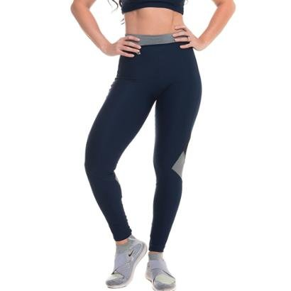 Legging com Proteção Solar Jump Bluish Sandy Fitness - Feminino