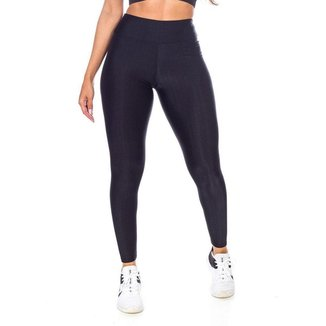 Legging Fitness 3d Preto Poliamida - GG (52-54)