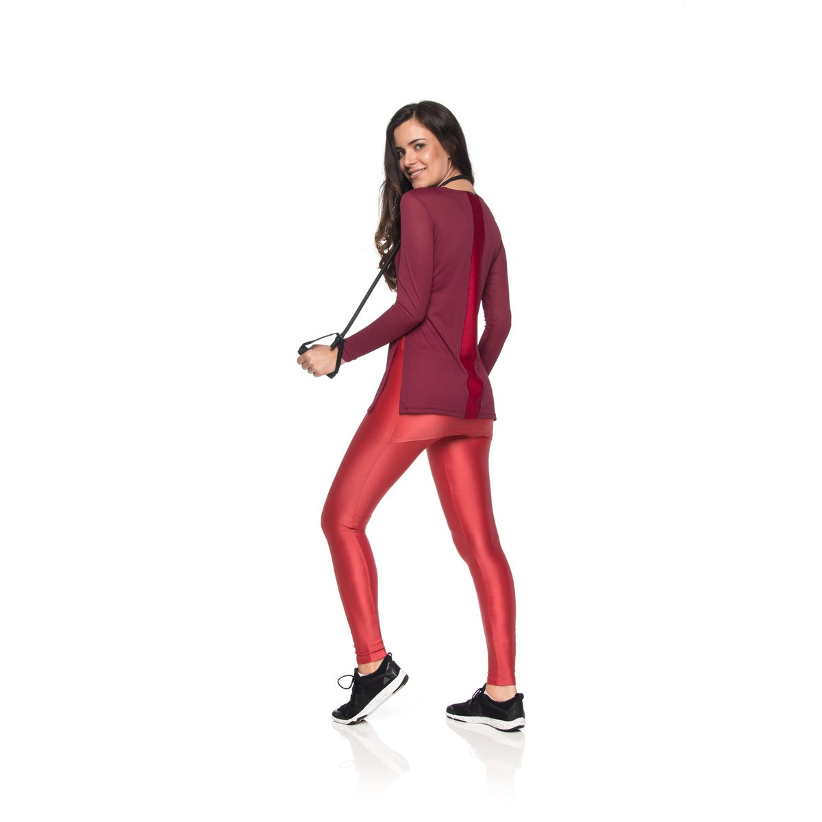 P Marsala Fitness Claro Fitness Claro Claro Marsala Cover Legging Cover Laranja Leggings zqWRgRa