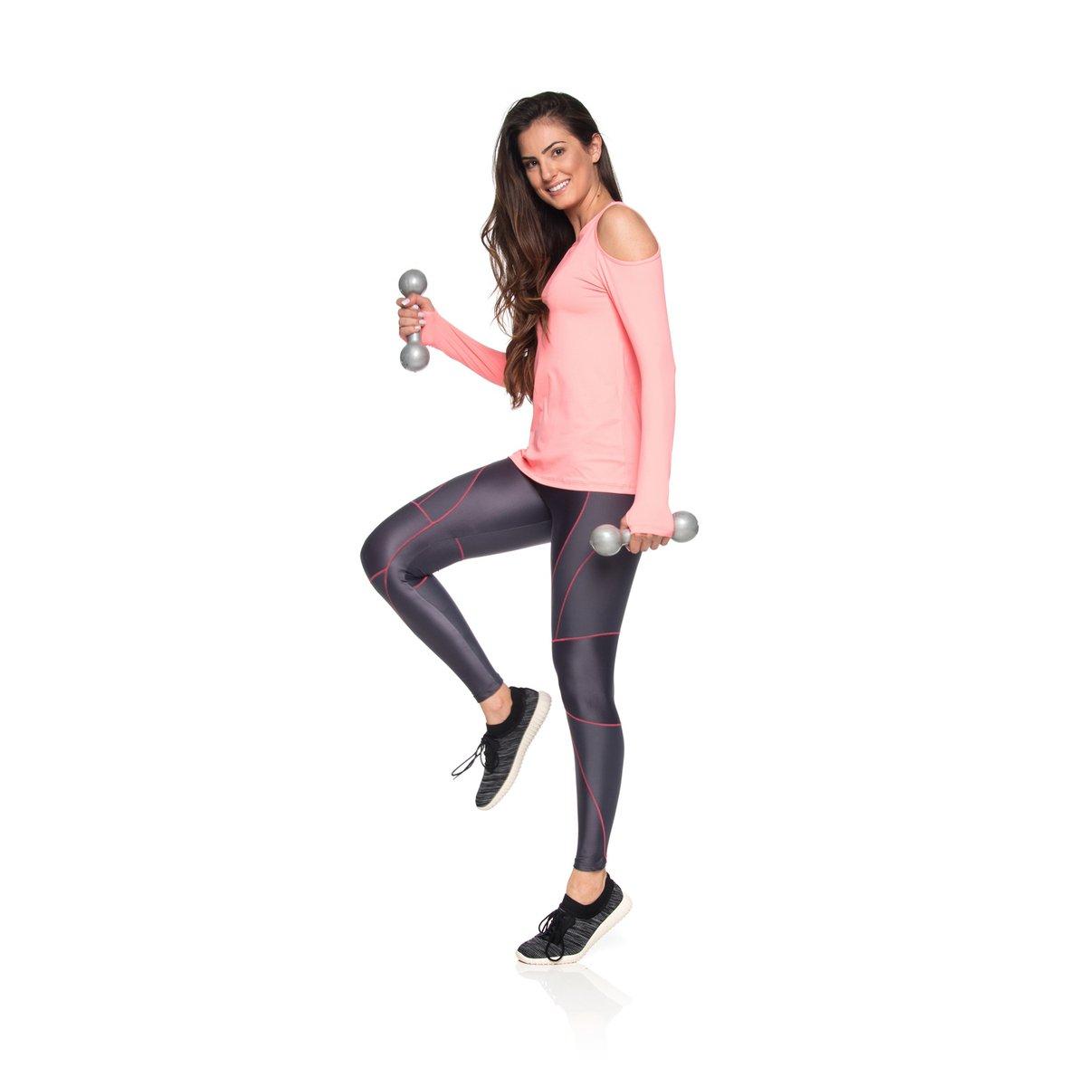 Action Legging Legging Grafite New Fitness Grafite M New Fitness 1XSxzaq