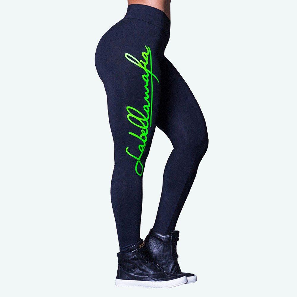 Legging Labellamafia e Training Preto Unbroken verde Legging Cross Labellamafia SqwrSE