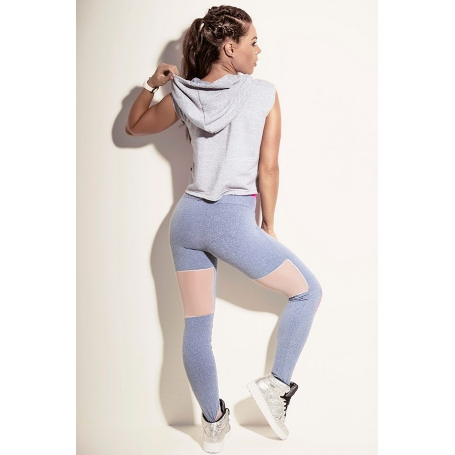 Legging Superhot Superhot Legging Just Cinza Cinza Legging Just 1RfCxZq