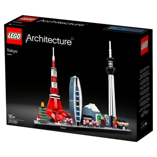 LEGO Architecture - Tóquio - 21051 - Única
