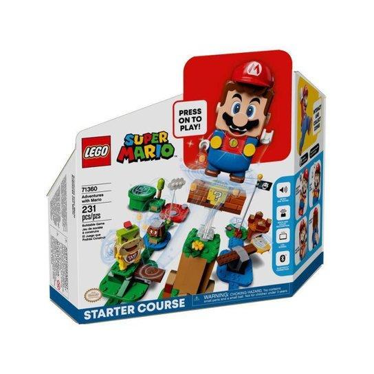 LEGO Aventuras com Mario Início 231 Peças 71360 - Colorido
