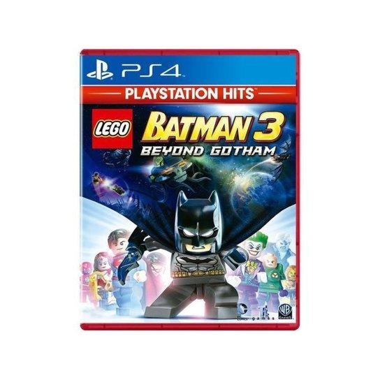Lego Batman 3 Beyond Gotham para PS4 - Azul+Vermelho