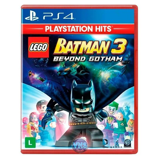 LEGO Batman 3 Beyond Gotham - PS4 - Incolor