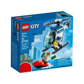 LEGO City Helicóptero da Polícia 51 Peças 60275