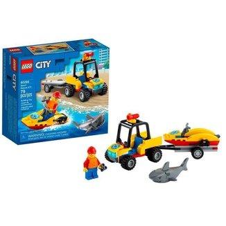 LEGO City Off-Road de Resgate na Praia 79 Peças