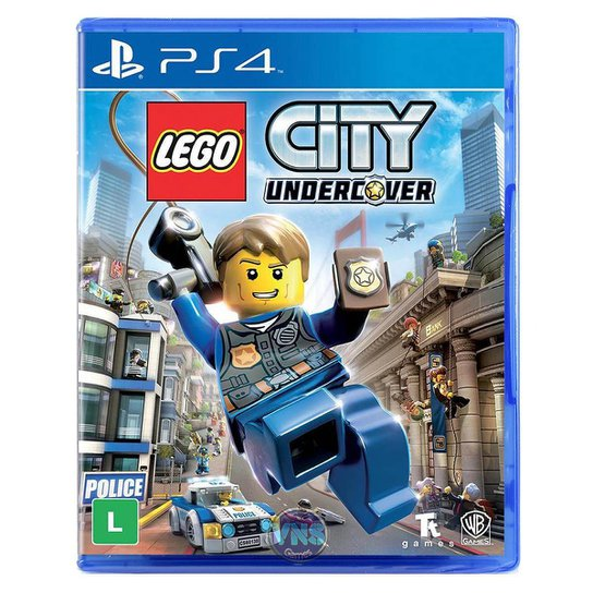 Lego City Undercover - Ps4 - Incolor