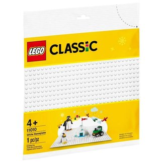 LEGO Classic - Base de Construção Branca - 11010