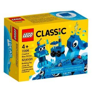 LEGO Classic - Peças Azuis Criativas - 11006