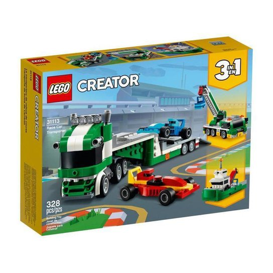 LEGO Creator Transportador de Carros de Corrida - Colorido