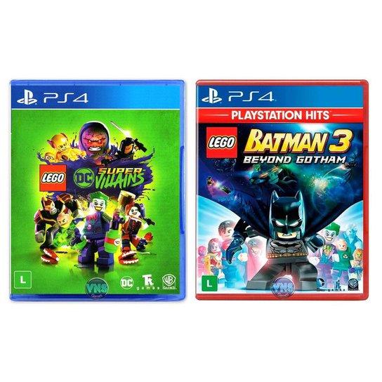 LEGO DC Super Villains + LEGO Batman 3 Beyond Gotham - PS4 - Incolor