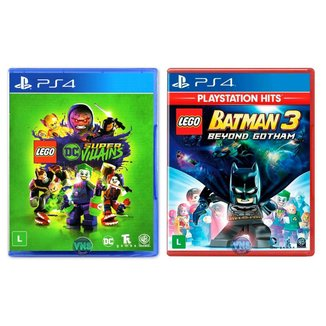 LEGO DC Super Villains + LEGO Batman 3 Beyond Gotham - PS4