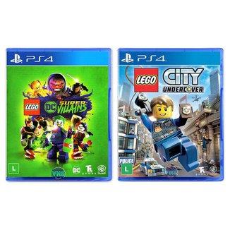 LEGO DC Super Villains + LEGO City Undercover - PS4