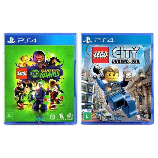 LEGO DC Super Villains + LEGO City Undercover - PS4 - Incolor