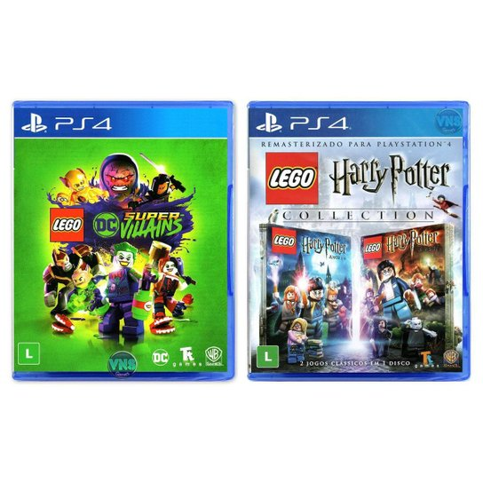 LEGO DC Super Villains + LEGO Harry Potter Collection - PS4 - Incolor
