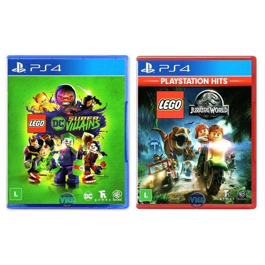 LEGO DC Super Villains + LEGO Jurassic World - PS4 - Incolor