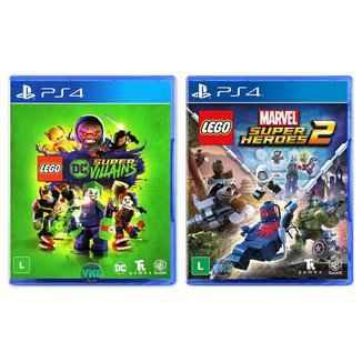 LEGO DC Super Villains + LEGO Marvel Super Heroes 2 - PS4