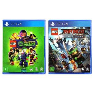 LEGO DC Super Villains + LEGO Ninjago - O