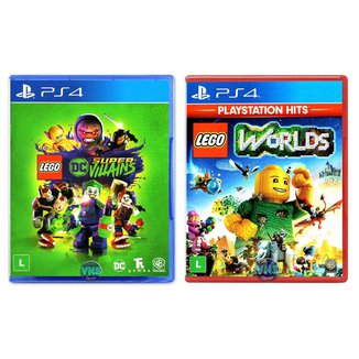 LEGO DC Super Villains + LEGO Worlds - PS4