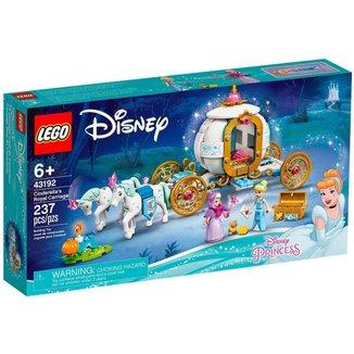 LEGO Disney Princess - A Carruagem Real de Cinderela - 43192