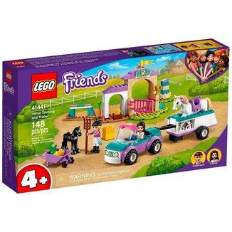 LEGO Friends - Treinamento de Cavalos e Trailer - 41441