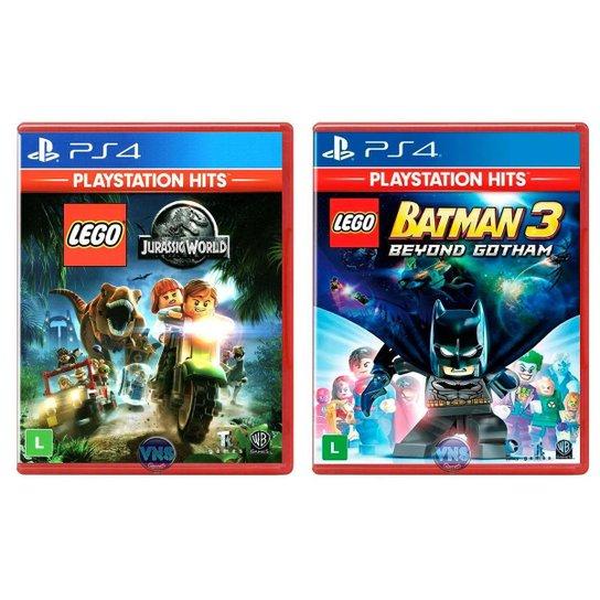 LEGO Jurassic World + LEGO Batman 3 Beyond Gotham - PS4 - Incolor