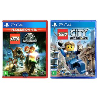 LEGO Jurassic World + LEGO City Undercover - PS4