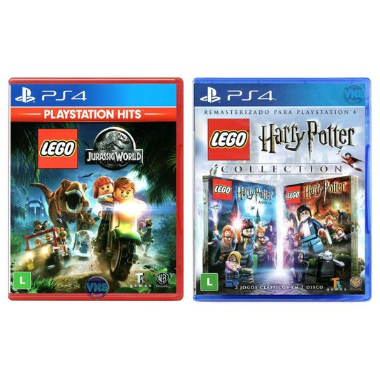 LEGO Jurassic World + LEGO Harry Potter Collection - PS4 - Incolor