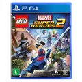 LEGO Jurassic World + LEGO Marvel Super Heroes 2 - PS4
