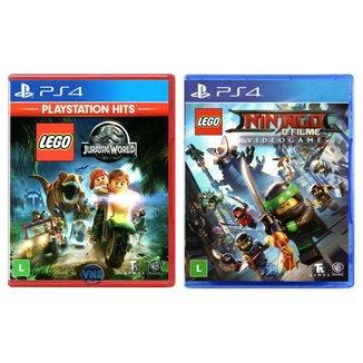 LEGO Jurassic World + LEGO Ninjago - O