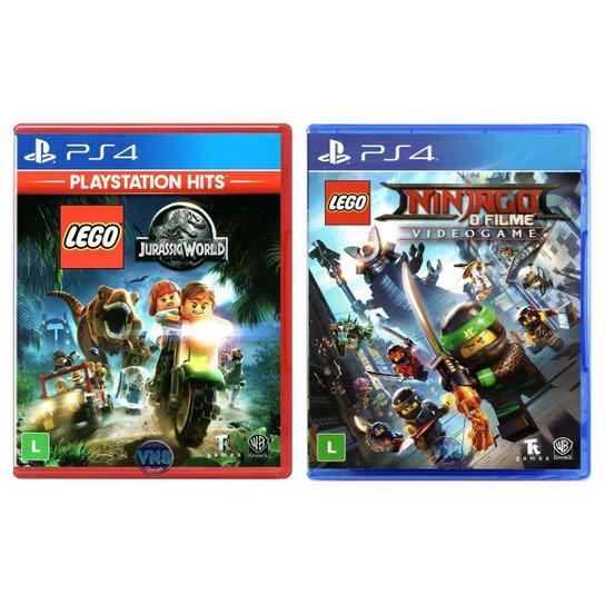 LEGO Jurassic World + LEGO Ninjago - O - Incolor