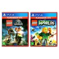 LEGO Jurassic World + LEGO Worlds - PS4