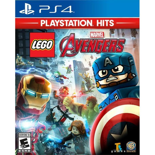 Lego Marvel Avengers PlayStation Hits - PS4 - Incolor