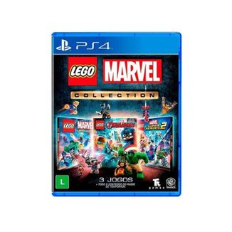 Lego Marvel Collection Br - Ps4