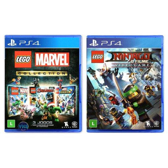 LEGO Marvel Collection + LEGO Ninjago - O - Incolor