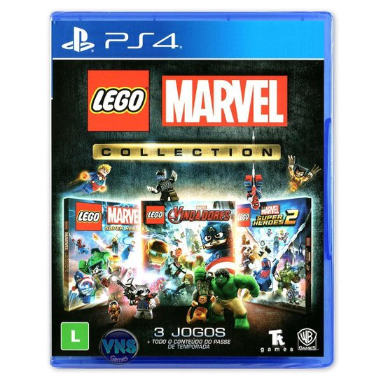 LEGO Marvel Collection - PS4 - Incolor