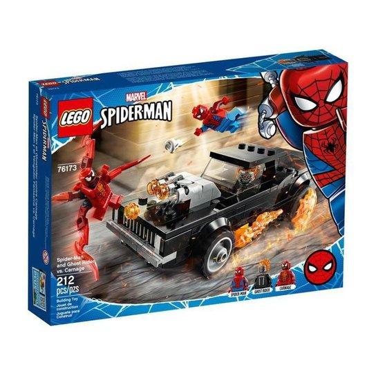 LEGO Marvel Homem-Aranha e Ghost Rider vs. Carnage - Colorido