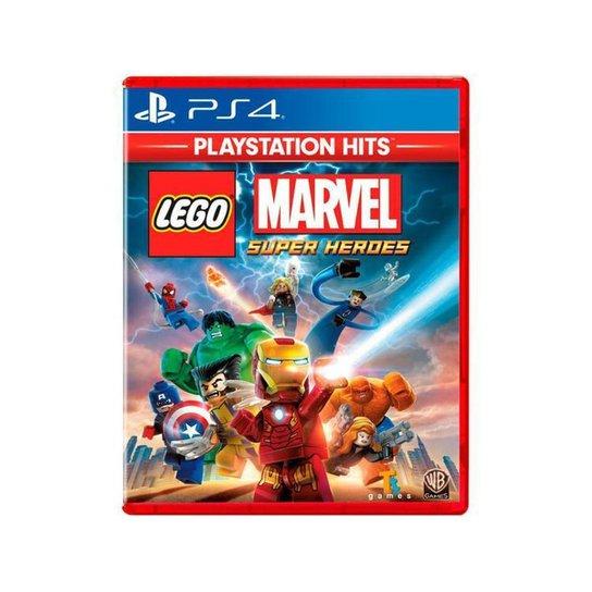 Lego Marvel Super Heroes para PS4 TT Games - Incolor