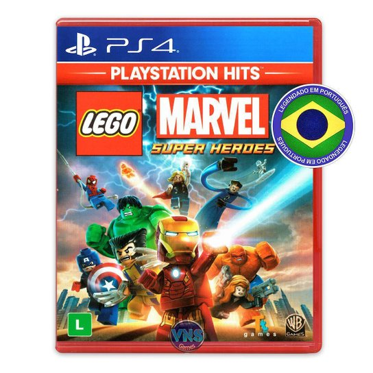 LEGO Marvel Super Heroes - PS4 - Incolor