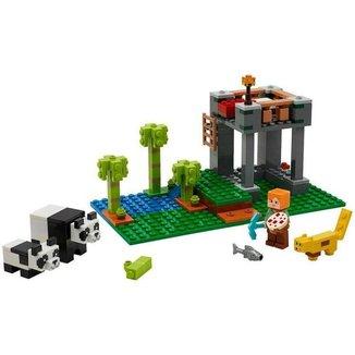 LEGO Minecraft A Creche dos Pandas 204 Peças
