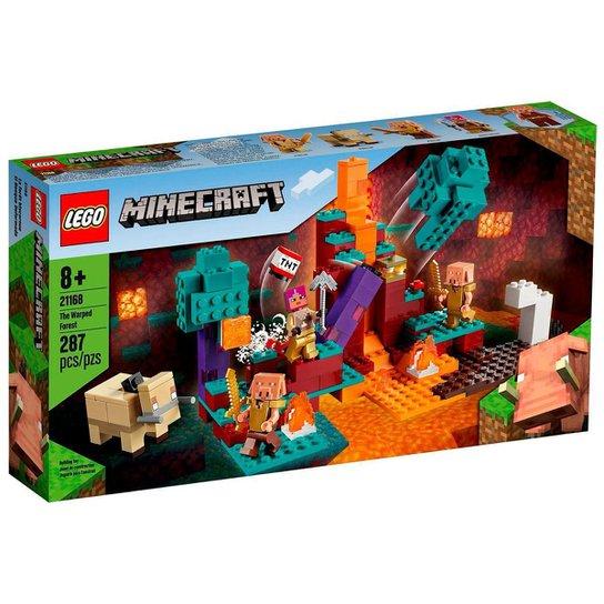 LEGO Minecraft - A Floresta Deformada - 21168 - Única