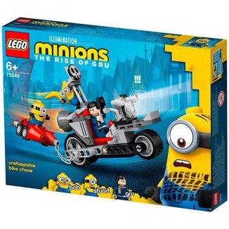 LEGO Minions - Perseguição de Moto sem Fim - 75549