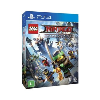 Lego Ninjago O Filme Video Game PS4
