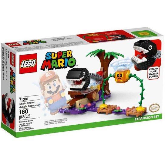 LEGO Super Mario Confronto na Selva com a Corrente - Colorido